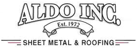 Aldo Inc. Sheet Metal & Roofing, Logo